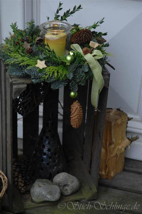 weihnachtsdeko im außenbereich die besten 25 weihnachtsdeko drau 223 en ideen auf rustikale winterdekoration