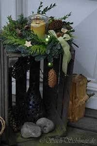 Eingangsbereich Außen Dekorieren : die besten 25 weihnachtsdeko drau en ideen auf pinterest rustikale winterdekoration ~ Buech-reservation.com Haus und Dekorationen