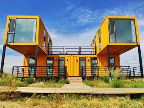 yellow star container house container house plans