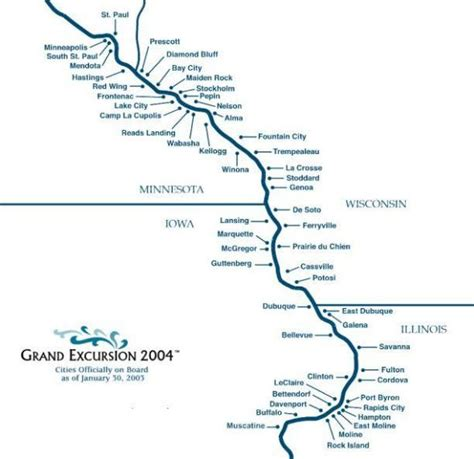 Boat Rentals Near Quad Cities by Mississippi River Map Iowa Bnhspine