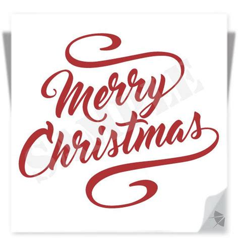 merry christmas design instant download clipart cutting file svg eps dxf png jpg