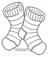 Coloring Socks Fuzzy Printable Tuesday Dulemba sketch template