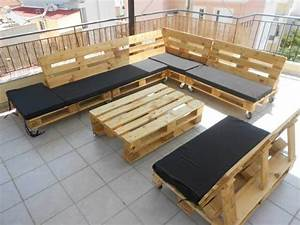 Pallet Sectional Couch for Outdoors 99 Pallets