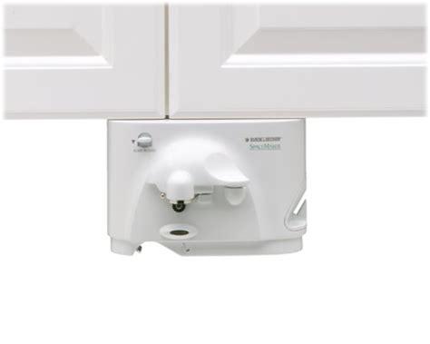 black and decker under cabinet can opener under the cabinet can opener neiltortorella com