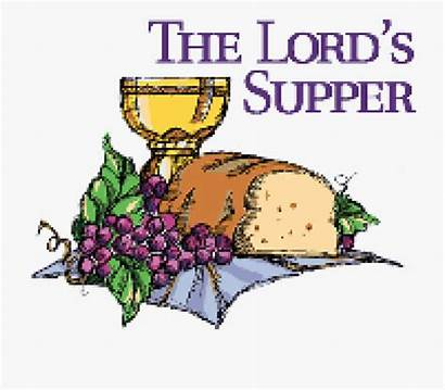 Communion Supper Clipart Clip Lord Religious Holy