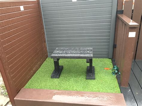 Small Plastic Bench 700mm  Home Improvements