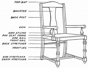 Vintage Chair Drawing