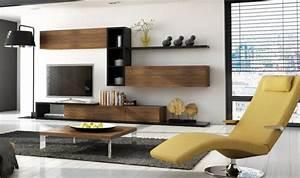 Meuble De Salon Pas Cher : meuble tv 3 tiroirs notte mobilier pour salon design en bois ~ Teatrodelosmanantiales.com Idées de Décoration