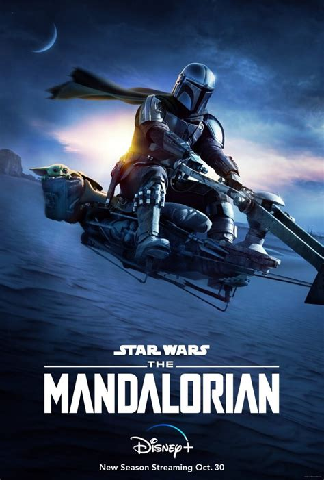 Baby Yoda Takes a Ride on a Speeder Bike in New Poster for ...