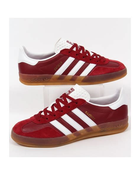 Adidas Gazelle Indoor Trainers Rust Redwhite, Originals