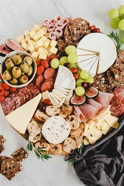 Cheese Board Charcuterie Meat Easy Holiday Bread