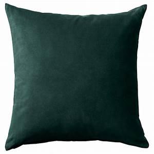 Kissenbezug 50x50 Ikea : sanela kissenbezug dunkelgr n ikea ~ Watch28wear.com Haus und Dekorationen