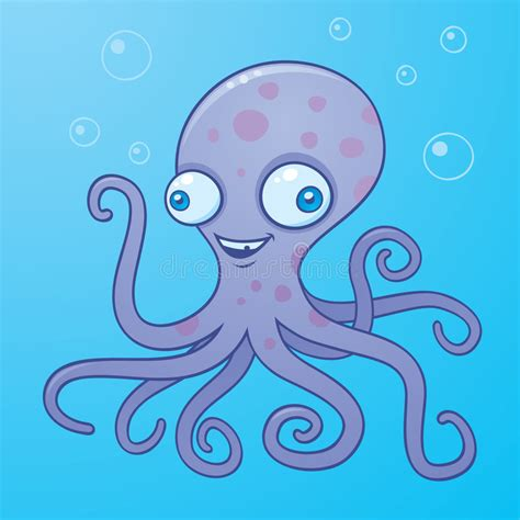 silly octopus stock vector image  vector octopus