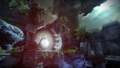 Vault Glass Destiny Queen Entrance Gray Games