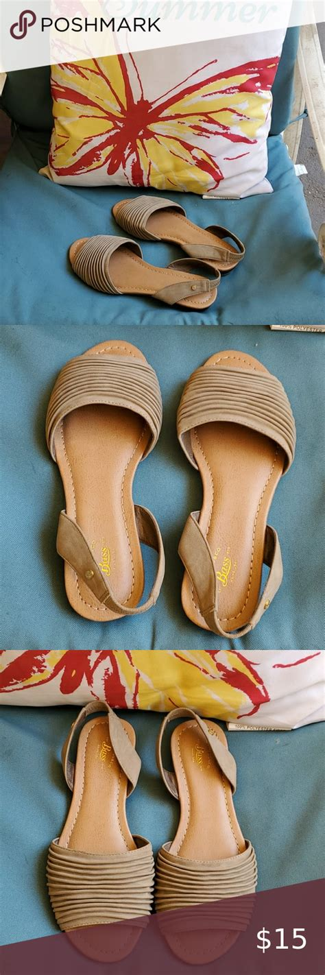 Bass Cadence Sea Rock Taupe Sz 7m Women S Sandals In 2020
