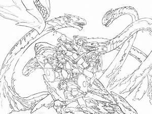 Amazons vs. Hydra by alexichabane on DeviantArt