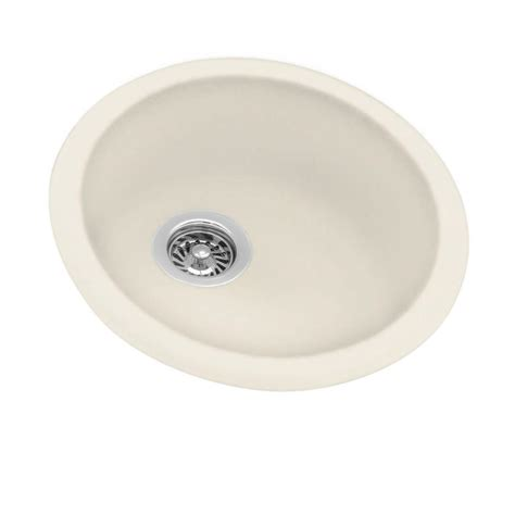 basin sink kitchen swan dual mount composite 18 5 in 0 basin 1503