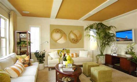 warna plafon ruang tamu rekomendasi  desain rumah