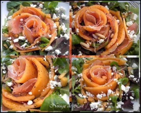 cuisine parme salade melon jambon cru féta ou salade vide frigo