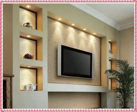 tv wall unit ideas gypsum decorating ideas  drywall