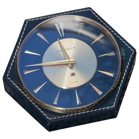 jaeger lecoultre table clock hermès table clock jaeger lecoultre 1960 at 1stdibs