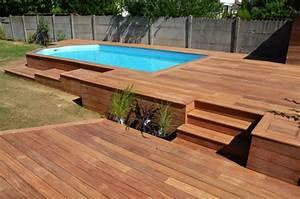 Terrasse Bois Exotique : terrasse bois composite ou exotique ~ Melissatoandfro.com Idées de Décoration