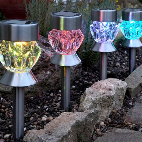 solar garden light stainless solar lights for garden decoration best solar