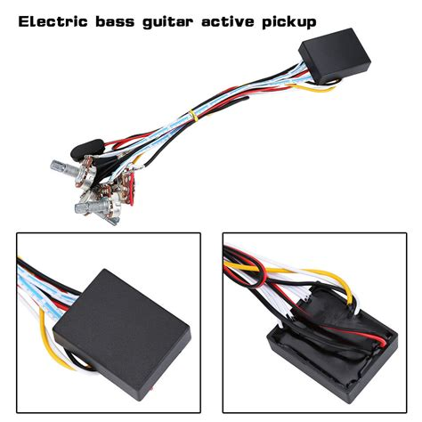 Band Preamp Circuit Guitar Balance Volume For