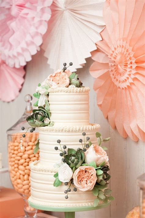 Weddingcakewithflowers  The Sweetest Occasion — The