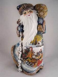 1000 images about Russian carved Santas on Pinterest