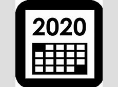 Calendario 2020 para imprimir Almanaque 2020 para imprimir