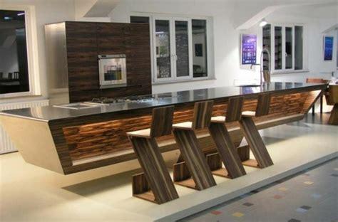 cuisine ultra design 90 idées pour des comptoirs de cuisine design