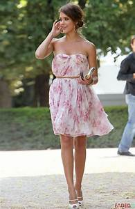 jessica alba summer wedding guest flowing dress With pretty summer dresses for a wedding
