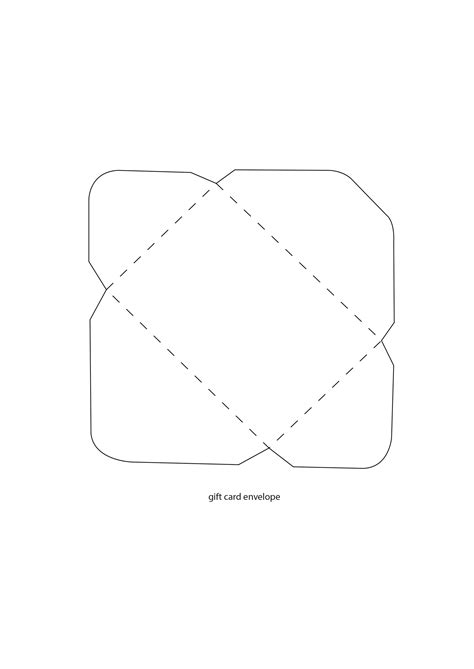 gift card envelope template simply cards papercraft 130 free downloads papercraftmagazines