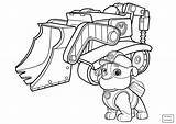 Paw Patrol Coloring Zuma Pages Rocky Everest Marshall Pa Cartoons Printable Getdrawings Getcolorings Colorings sketch template