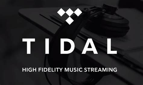 tidal are now the service with master