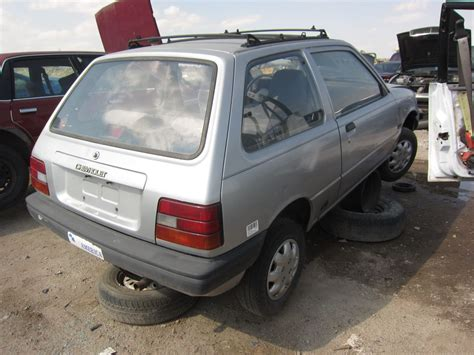 Junkyard Find 1986 Chevrolet Sprint  The Truth About Cars