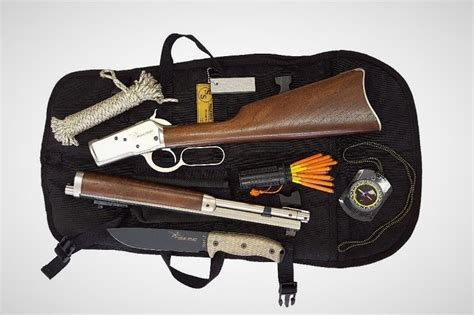 bush pilot carbine survival kit mens gear
