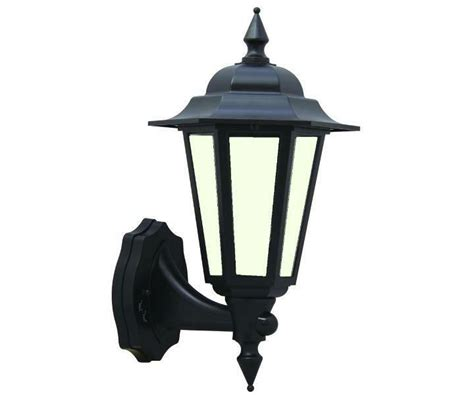 Victorian Style Black Outdoor Wall Light Lantern W Led