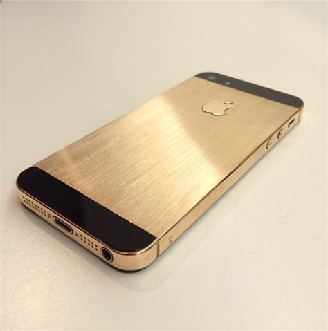 iphone gold 3ders org iphone 5s 18k gold edition made with 3d