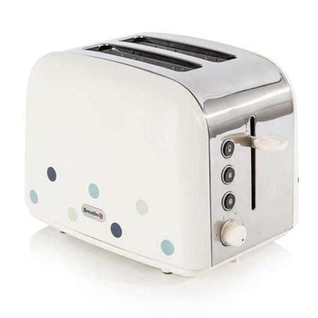 Breville Blue Toaster - breville vtt324 breville toaster blue dots