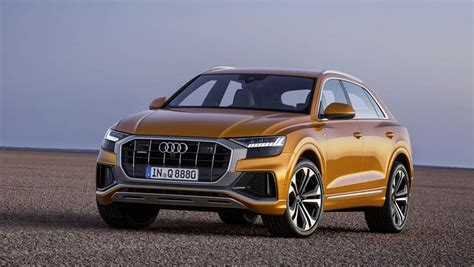 2019 Audi Q8 Suv's Trick Headlamps Are Upgradable