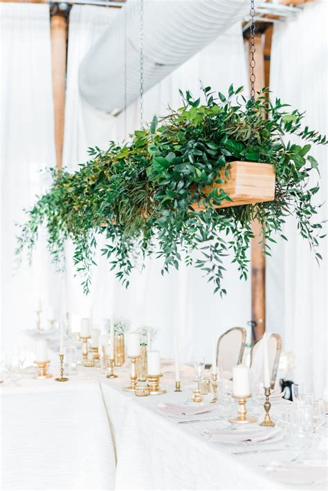 hanging centerpieces  spice   ceiling weddingwire