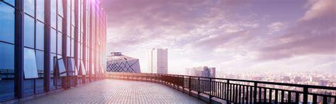 urban fantasy modern city background skyline building