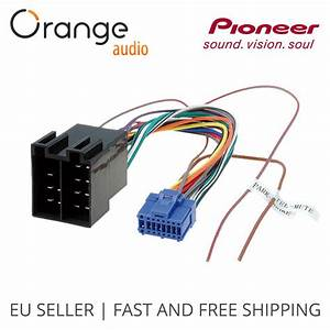 Pioneer Avh 16 Pin To Iso Lead Wiring Loom Power Adaptor Wire Radio Connector 796551150560