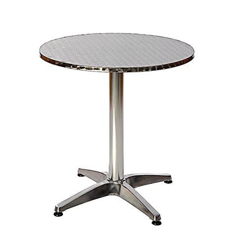 table bistrot aluminium table bistrot jardin trouvez le meilleur prix sur voir