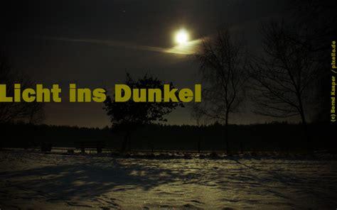 Licht Ins Dunkel Bringen ...