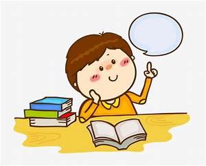 Los Niños Leer Pensando, Niño, Lectura, Pensando Imagen PNG para Descarga gratuita