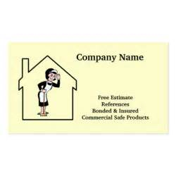 House Cleaning Services Business Cards