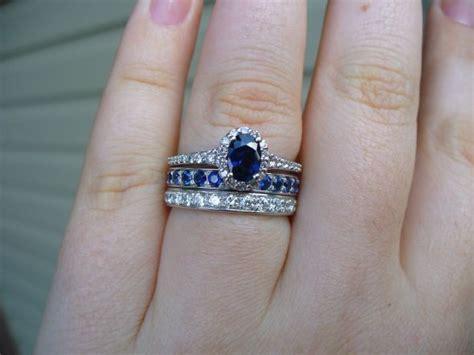 Sapphire Ring Porn!